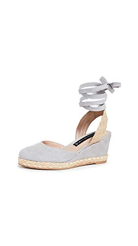 - STEVEN by Steve Madden Women's Charly Sandal Grey Suede 7 M US