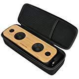 Khanka Travel Case for AOMAIS Life 30W Bluetooth Speakers, Loud Bamboo Wood Home Audio Wireless Speaker
