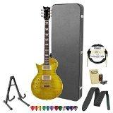 ESP JB-EC-256FM-LH-LD-KIT-2 Flamed Maple Lemon Drop Left-Handed Electric Guitar Pack