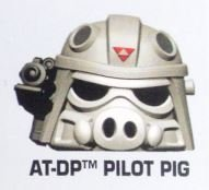 "Star Wars Angry Birds Rebels ""AT-DP Driver Pig"" Telepod Figure with Teleporter Base"
