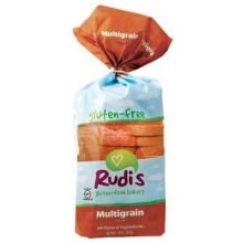 Rudis Gluten Free Multigrain Sandwich Bread, 18 Ounce - 8 per case.