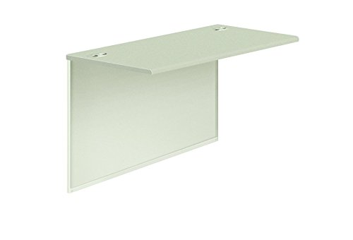 HON 38210G2Q 38000 Series Bridge, 48w x 24d x 29-1/2h, Gray Patterned Top/Light Gray Base (Gray Patterned Laminate Top)