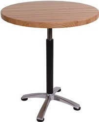 John Boos 30 Inch Dia X 1½ InchH, Round Table Top, Oak