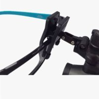 Dental 2.5X420mm Surgical Medical Binocular Clip Loupes DY-109 Lab Head Magnifier w/ Clip-on by Sololife