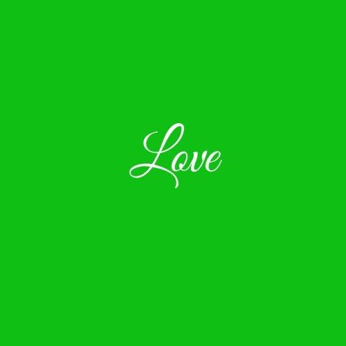 Love .....: Libro degli ospiti Love Matrimonio Guest book guestbook ospiti decorazioni accessori regalo sposa Matrimonio idee 100 Pagine Bianche 21 x 21 cm Copertina Verde (Italian Edition)