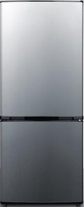 Summit FFBF101SS Refrigerator, Stainless Steel