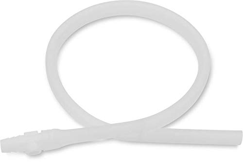 Hollister 9345 Extension Tubing 18 Inch L, 11/32 Inch ID, Oval, Kink Resistant, With Connector, 1 Count