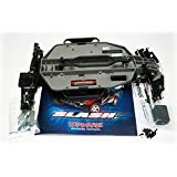 (Traxxas Slash 2WD Chassis Pre-Roller Gray Conversion Chassis)