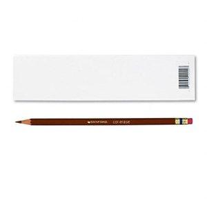Prismacolor Col-Erase Erasable Colored Pencil BROWN Set/12
