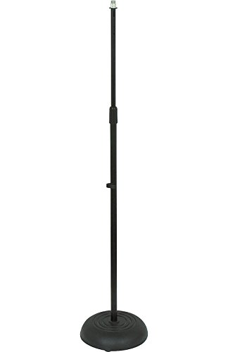 Musician's Gear Die-Cast Mic Stand Black