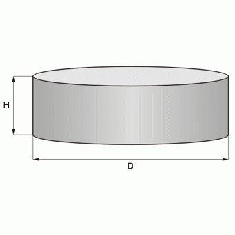 Rundmagnet Supermagnet Haftmagnet N52 Scheibenmagnet Magnetastico /Über 100 kg Magnetkraft Ultra starker N52 Neodym Permanentmagnet Zylinder High-Performance Neodym Magnet Scheibe N52 60x10 mm