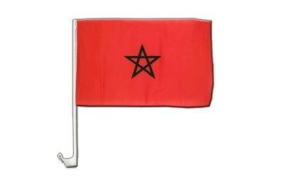 Maxflags Drapeau Pour Voiture Maroc 30x40cm Amazon Fr Jardin