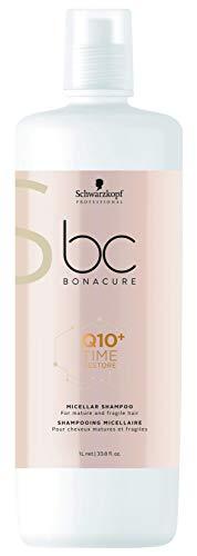 BC BONACURE Q10+ Time Restore Micellar Shampoo, 33.8-Ounce