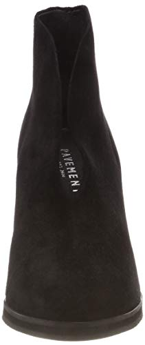 black Suede Pavement 017 Agnes Botines Schwarz 017 Mujer Para 1SYXwqS