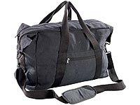 Xcase Falttasche: Canvas-Reisetasche Handgepäck-Format 55 x 40 x 20 cm, 44 Liter (Bordcase)