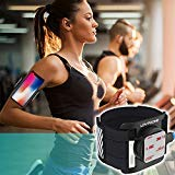 LOVPHONE Phone Running Armband, Sport Exercise Armband Phone Holder for iPhone X/8/8 Plus/7/7 Plus/6/6s, Samsung Note 8/S8/S7 Edge with Magnetic Quick Installation and Two Size Adjustable Velcro Strap