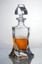 Bohemia - Quadro Crystal Whiskey Decanter 900ml