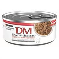 Purina Dm Savory Selects Dietetic Management Cat Food 24 5.5 oz Cans, My Pet Supplies