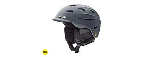 Smith Optics Vantage-Mips Adult Ski Snowmobile Helmet - Matte Charcoal/Large