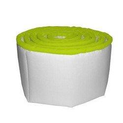 Forever Mine Cradle Bumper- Color: Green Apple, Size: 15x33