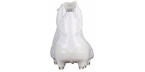 adidas Men's adizero 5-Star 6.0 Mid Football Cleats (9, Running White/Running White)