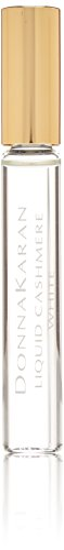 (Donna Karan Liquid Cashmere White Mini Eau de Parfum Rollerball for Women, 0.34 oz)