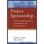Project Sponsorship (06) by Englund, Randall L - Bucero, Alfonso [Hardcover (2006)]