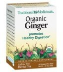 Traditional Medicinal's Organic Ginger Tea (3x16 bag) - Best Reviews Guide