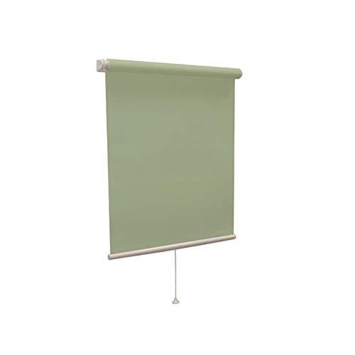 ティオリオ ロールスクリーン 遮光2級 135×220cm グリーン B07GMSBBX4