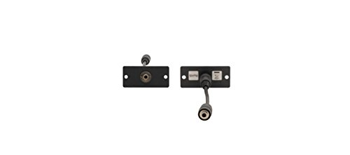 (Kramer Electronics WA-1PN 3.5mm Stereo Audio Wall Plate Insert, Single)