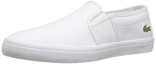 Lacoste Women's Gazon BL 1, White, 8.5 M US