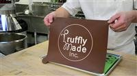 Truffly Made. Mini Cheesecake Round Chocolate Truffle, Jelly and Candy Mold, 88 cavities, One step candy pop-out by Truffly Made (Image #4)'