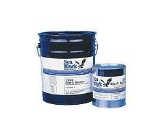 (New Black Barrier Coal Tar Epoxy seahawk 1255f 5 Gallon Kit )