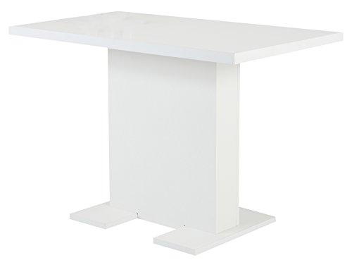 Apollo 020553 Esstisch, Holz, weiß, 68 x 110 x 76 cm