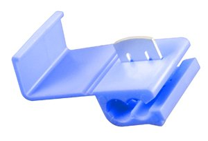 QUICK SPLICE 16-14AWG BLUE SELF STRIP POLYPROPYLENE TIN PLATED BRASS