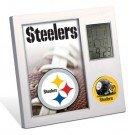 NFL Pittsburgh Steelers Digital Desk Clock
