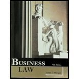Business Law - 5th Edition, James F. Morgan, 1627513434