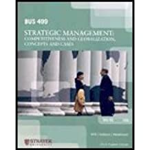 Amazon strayer university books bus499 strategic management 2009 by strayer university fandeluxe Image collections