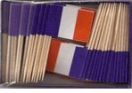 Box of 100 France French Toothpick Flags Dinner Flags Cocktail Flags Ships Fast WindStrongÃ\'® by American Flag Superstore