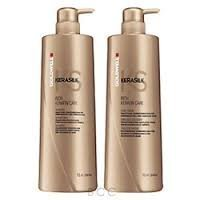 (Goldwell Kerasilk RICH KERATIN CARE Shampoo and Daily Intense Mask LITER / 33.8)