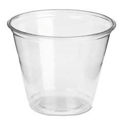 Dixie® Clear Plastic PETE Cups