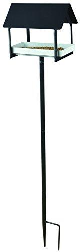 Esschert Design FB408 Series Anthracite Bird Table on Stick by Esschert Design