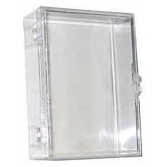 ONE SINGLE Ultra Pro CLEAR 55 count hinged box for all standard Baseball; Football; Hockey; Basketball; Racing and Non sports Cards - Approx 2.5 X 3.5 inches (2.5 Non)