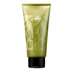 Innisfree Olive Real Cleansing Foam with Organic Extra Virgin Olive Oil, 5.07 Ounce