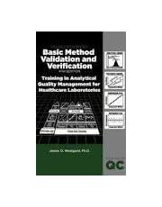 Basic Method Validation and Verfication