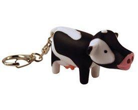 Cow Keychain Led Light - 3