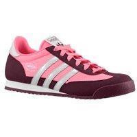 Adidas Originals Women's Dragon Sneakers-ULTPOP/LGREY/LGTMAR-9