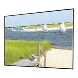 "Clarion Cineflex Fixed Frame Projection Screen Viewing Area: 92"" diagonal"