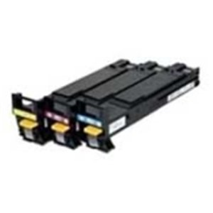 Konica Minolta Tri-Color Ink Cartridge - Inkjet - 800 Page - Cyan, Magenta, Yellow