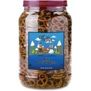 Office Snax, OFX00082, Old Fashioned Mini Twist Pretzels, 1 Each (Pack of 2)